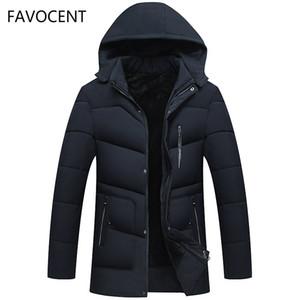 FAVOCENT Good Quality Men Jacket Super Warm Thick Mens Winter Parkas Long Coats with Hood for Leisure Men Parka Plus Size 5XL 201118