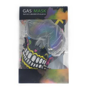 Gas Mask With Acrylic Bong Silicone Mask Hookah Shisha Silicone Pipe Smoking Accessories Free SHipping Wholesale