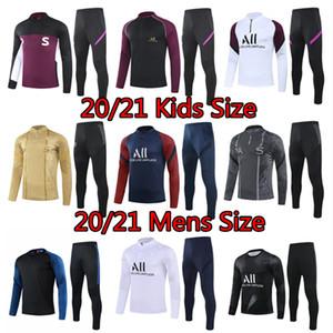 2020 2021 Paris mens kids jacket VERRATTI Draxler long sleeve sportwear children tracksuit soccer MBAPPE Gueye football child training shirt