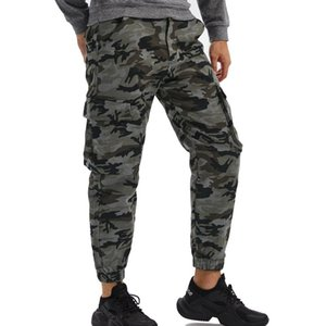 2020 Men Camouflage Cargo Pants Mens Tactical Joggers Pants Male Multi-Pocket Fashions Casual Army Trousers 29-40