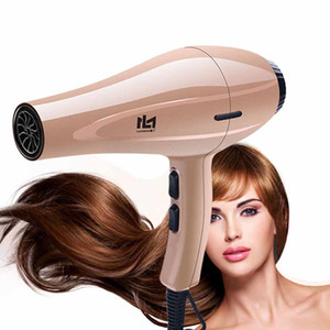 High Power Hair Dryer for Hairdresser Professional Negative Ion Blow Dryer Hot Cold Wind with Air Collecting Nozzle D35