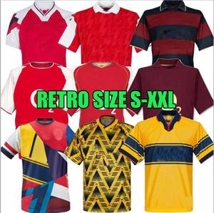 NCAA Arsen Henry Retro Fussball Jersey 05 06 Vintage Pires Football Shirt 07 08 98 99 Bergkamp Rosicky Reyes 20. Jubiläum 88 89 Final 2014