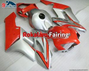 For Honda Fairing Kit CBR 1000 RR 05 2005 CBR1000 RR 2004 04 CBR1000RR 04 05 Silver Red Bodywork Kit Fairing (Injection Molding)
