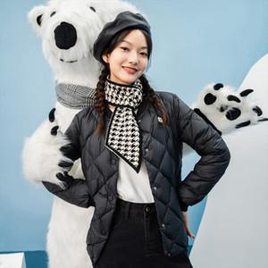 INMAN 2020 Winter New Arrivals Lightweight Versatile Fashion Short White Duck womens Down Jacket Drop Shipping