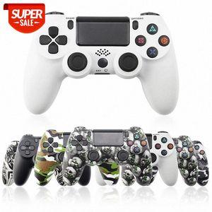 ل ps4 تحكم اللاسلكية gamepad ل playstation dualshock 4 عصا التحكم بلوتوث gamepads ل ps4 / ps4 pro silm ps3 pc game pad # qx01