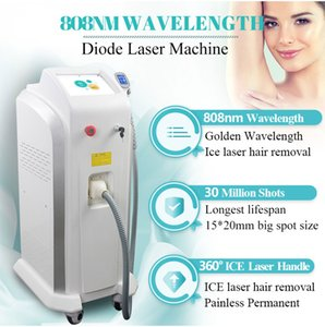 808nm Diode Laser Hair Removal Machine Alexandrite Ice Laser Permanent Painless Hair Removal Equipment Free Shipping
