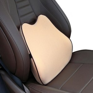 Universal Car Waist Pillow Memory Rest Seat Pillow Cotton Breathable Automobile Back Lumbar Support Rest Waist Protector Cushion