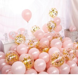 10pcs lot Birthday Balloons 1.5g 10inch Latex Balloons Gold Red Pink Blue Pearl Wedding Party Balloon Ball Kids Toys Air jllzQT
