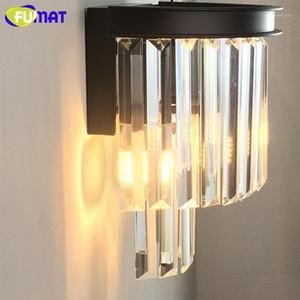 Fumat Lámpara de pared moderna LED LUZZARIA LUZ CRISTAL LIGHTURS LIGHTURS LUSTROS LUSTROS APONTES PARA EL CORRIDOR DE LA PARED Dormitorio Nordic Home Deco Lamps1