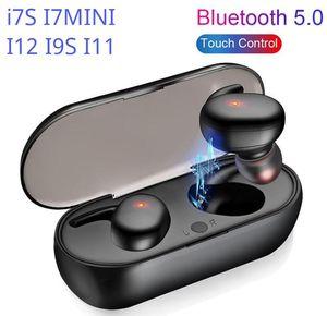 DHL 무료 무선 이어폰 블루투스 Y30 TWS PK I7S I7MINI i12 / i11 / i9 / inpods 12 무선 블루투스 헤드폰 헤드셋 이어폰 뜨거운 판매