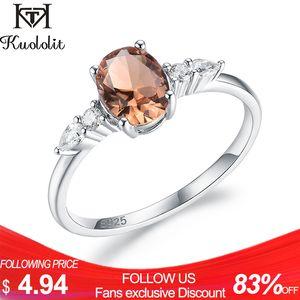 Kuololit diaspore Gemstone real anel de prata esterlina 925 por Mulheres Zultanite Londres azul luxuoso anel para a noiva Romantic Q1116 aniversário