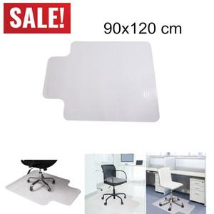 36 x 48inch CLEAR PVC Tapis Tapis de tapis de protection pour plancher de bois Hard Planchers Tapis Protecteur de plancher transparent Chaise roulante de sol