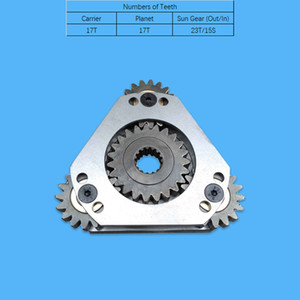 Carrier Assy NO 1 100502-00233 with Sun Gear K9006194 for Swing Gearbox Reduction Fit Excavator DX55 DX55W DX60 DX60R DX62R-3