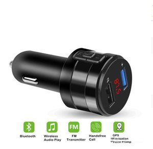 Carro Bluetooth FM transmissor modulador 3.1A duplas Portas USB Car Charger MP3 Player áudio sem fios Receptor Handfree Kit