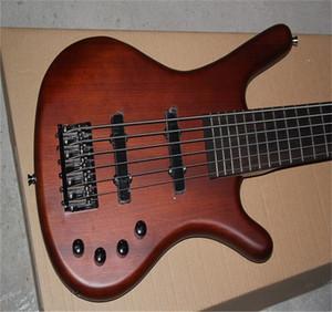 Бесплатная доставка Высочайшее качество Warwick Corvette Amazing 6 String Electric Bass Guitar с активной цепи активные пикапы системы гитары