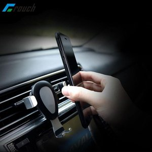 Crouch Car Phone Holder Stand For 6 7 7s S8 Phone Stand Auto-lock Air Vent Mount Holder Car