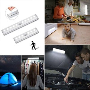 19CM 5v Modern Wall Light Indoor Outdoor PIR Motion Sensor Bedside Strip Lights Wardrobe Kitchen Cabinet Stairs Toilet Led Lamp