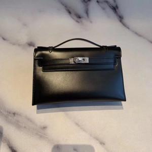 2020 High-end custom classic ladies handbags Paris designer designer evening bag fashion ladies style BOX leather handmade