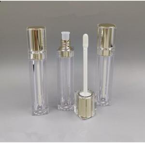 8ml vazio lipgloss recipientes tubos acrílico labelo labelo aplicadores de bálsamo recipiente frasco frasco funil