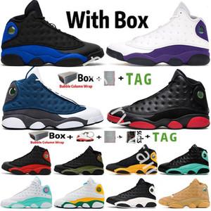 2021 Jumpman 13 13s Mens Baloncesto Zapatos de baloncesto Reverse, obtuvo el juego Cap Bata Isla Green Hyper Hyper Royal Flint Pure Money Entrenadores Zapatillas Tamaño 13