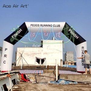 2020 Venda Quente Inflável Arch Start Line Line Logotipo com soprador de ar livre para corridas ou evento esportivo