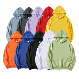 Gumprun Qualidade Marca Homens Hoodie 2020 Outono Hip Hop Streetwear Homens Pulôver Sueter Hoodies Mens Sólido Cor Hoodie Masculino C1214