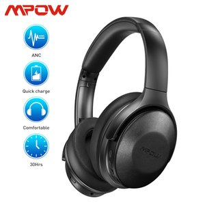 Mpow H17 Updated Version Bluetooth Wireless Active Noise Cancelling Headphone Fast Charge 30h Playtime ANC Headset For Travel Y1128
