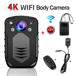 Professional 4K FHD 1080P 1296P GPS WIFI Mini Body Camera Cam Wide Angle Sport Outdoor Car DV DVR Security Worn Camcorder