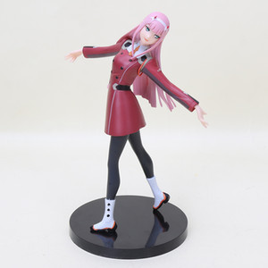 21cm Anime DARLING In The FRANXX Figure Zero Two 02 Figurine Girls Action Figures PVC Collectible Model Toys Doll Statue Gifts