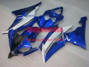 Bodywork blue white YZF R6 2008 2009 2010 2011 2012 2013 2014 2015 2016 Injection Plastic ABS Fairings Kit For Yamaha YZF-R6 body kits