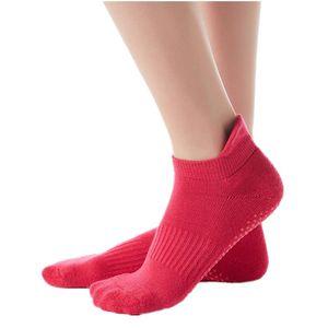 Women Yoga Socks Non-Slip Grips Thicken Antislip Silicone Sole Breathable Cotton Pilates Pure Barre Ballet Dance Sports Socks