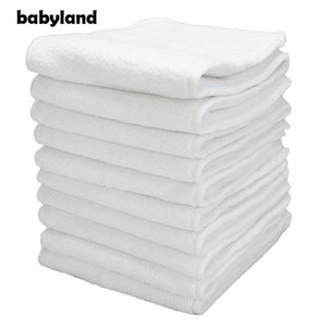 Babyland High Quality Thicker Microfiber Inserts Absorbent Reusable Liners Pocket Diaper Insert Nappy +Freebie 201119
