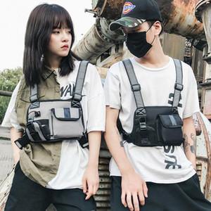 Harness Bag Tactical Rig Unisex Bag Chest Hip Hop Women Men Packs Pockets Fanny Packs Vest Waist Two Adults Adjustable Pniwe