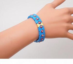 Shinus Rainbow Bracelet Turkish Evil Eye Bracelets Women Multicolor Enamel Tile Beads Pulsera Mujer Fashion Jewelry22