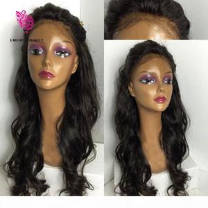 8A Unverarbeitete menschliche Spitze Frontperücken Günstige Haare Vollspitze Perücke Latefront Perücke mit Babyhaar 100% Brasilianische Naturalhair Perücken