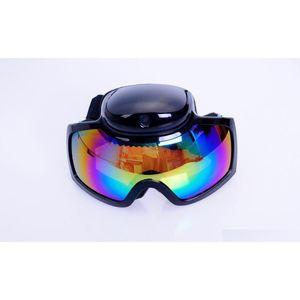 hd 720p ski sport glasses snowboard skate video camera ski goggles sunglasses video recorder lense shipping