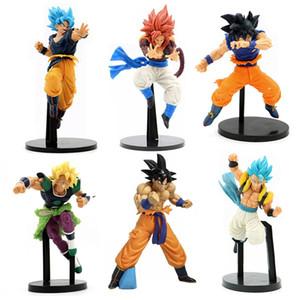 Anime Broli фигура Сын Goku Figurine Gogeta Действия фигурки Вегета Figur Super Saiya Broly PVC Модель Игрушечная Статуя 201202