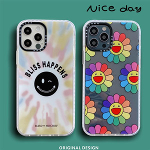 Luxury Sun flower soft silicon phone case for apple iphone 12 MiNi 6 6S 7 8 X XS XR MAX 11 Pro Plus back cover capa