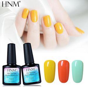 Гель для ногтей HNM 10ML один шаг лак алкоголь впитается на польский 3 в 1 УФ-светодиодные гельполистые чернила Gellak Lucky Permance