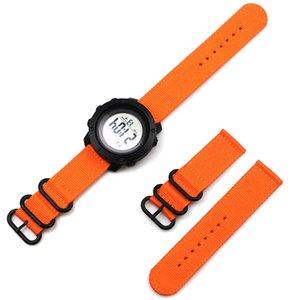 Quick Release pinos 24 milímetros Nylon Strap Watch para Suunto Traverse Alpha pulseira Suunto 9 / Baro Spartan Esporte Woven Watch Band