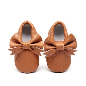 New Bowknot Childrens Shoes Baby Shoes Baby Toddler Shoes Baby Soft Bottom 0-1-2 Years Old Product Dropshipping