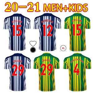 2021 Albion Soccer Jerseys Diang Austin Brunt Pereira Robson-Kanu Custom West Brom Adulto Kids Home Away Football Shirt