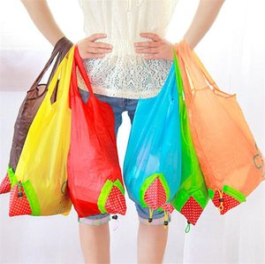 11 Color Home Storage Bag Large Size Reusable Grocery Bag Tote Bag Portable Folding Shopping Bags Convenient Pouch YYB3159