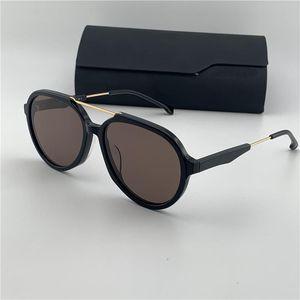 New fashion brand design sunglasses 1012 classic round frame classic retro style summer uv400 protective lens hot selling wholesale glasses