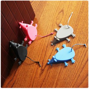 Silicone Door Stop Stopper Baby Safety Cute Cartoon Mouse Door Stopper Safe Protector Anti-pinch Hand Child Safety Security WELL
