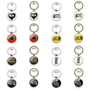 I Cant Breathe Keychain Acrylic Letter Chain American Parade Slogan Pendant for Car Keys Bag Key Ring Black Lives Matter