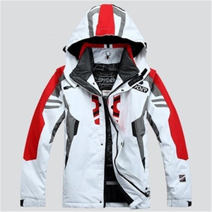 Men's ski Coat Spider Ski Jacket Men's Waterproof Warm Windproof Breathable Waterproof Snowboarding Jacket Jaqueta de snowboard LJ201215