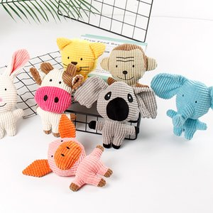 Pet Supplies Amazon Hot Cats And Dogs Bite Resistant Corn Fleece Vocal Accompany A Variety Of Cartoon Plush Toys In Stock