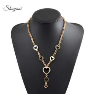 5pcs lot Heart locket with Rhinestones floating charms locket glass living memory lockets necklace 60CM chains for women gifts