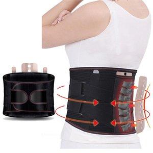 KSY Tourmalina ortopedica Tormalina Auto-riscaldamento Lastre in acciaio magnetico Vita Cintura Uomini Donne Supporto lombare Brace Brace Belt1